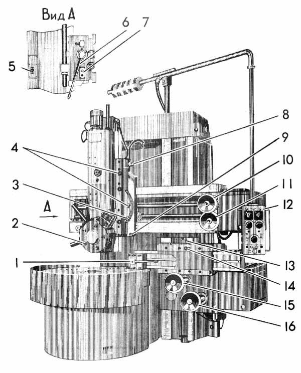 Токарно карусельный станок 1512